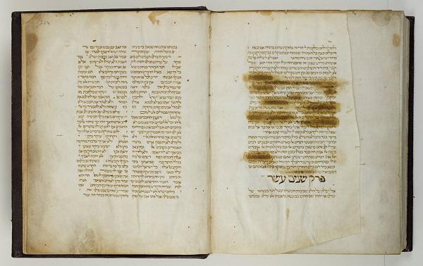 02. Bladzijde met censuur door de inquisitie