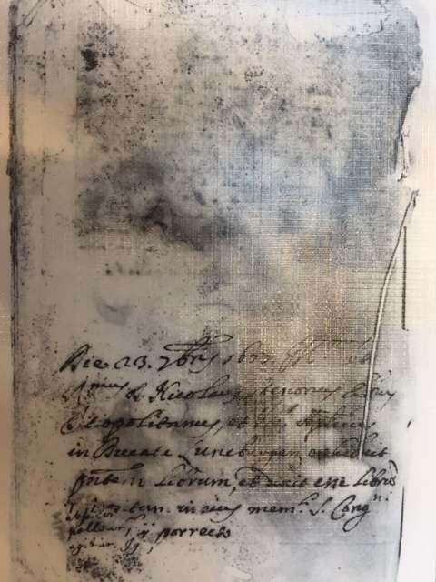 10. Manuscript Ethica, Pieter van Gent, Amsterdam (), ca. 1677 ()