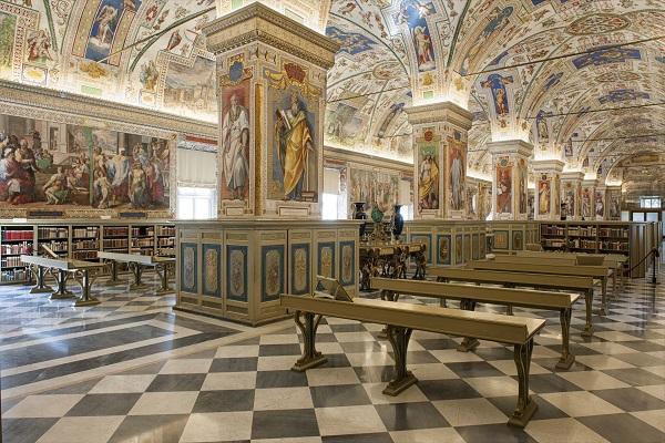 11. Foto interieur Vaticaanse Bibliotheek (2)