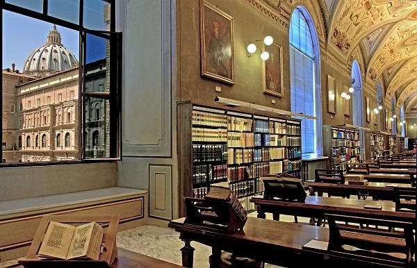 11. Foto interieur Vaticaanse Bibliotheek (3)