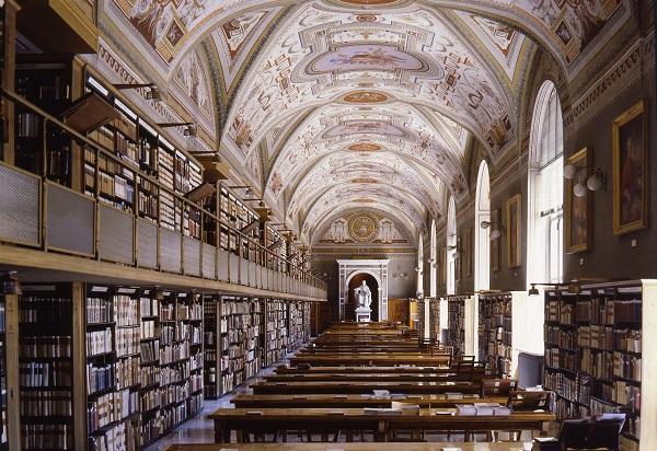 11. Foto's interieur Vaticaanse Bibliotheek (1)