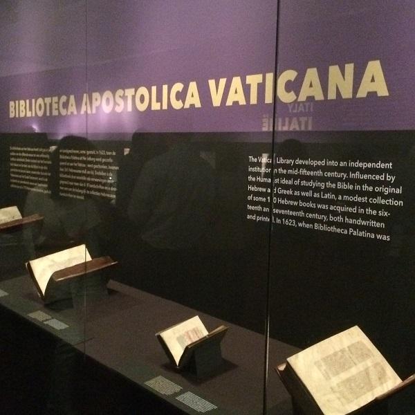 15. Overzichtje virtrine Vaticaan