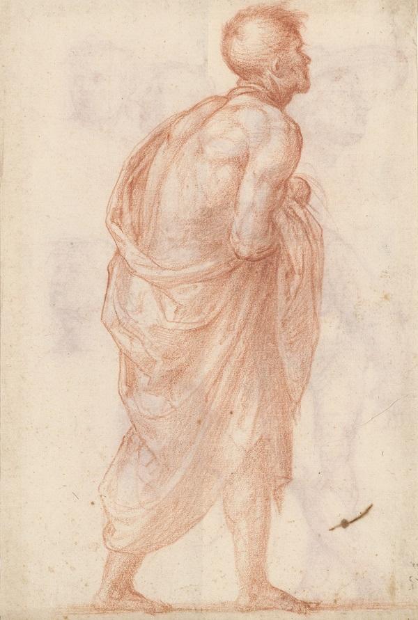 04 Studie voor het gezicht van een jonge vrouw in het schilderij Madonna della Misericordia_Museum Boijmans Van Beuningen