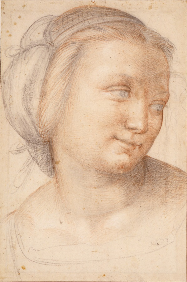 07 Studie voor een zittende moeder met kind in het schilderij Madonna della Misericordia_Museum Boijmans Van Beuningen