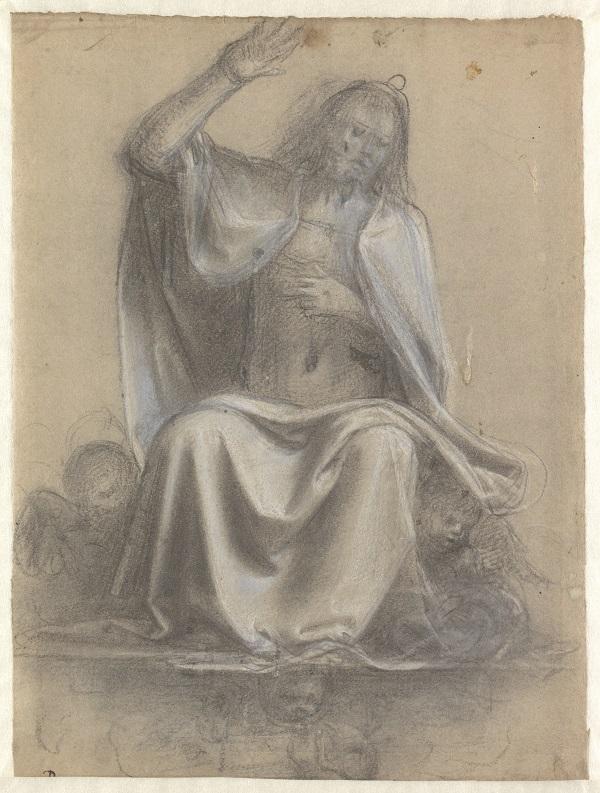 09 Studie voor de zittende Christus_Museum Boijmans Van Beuningen