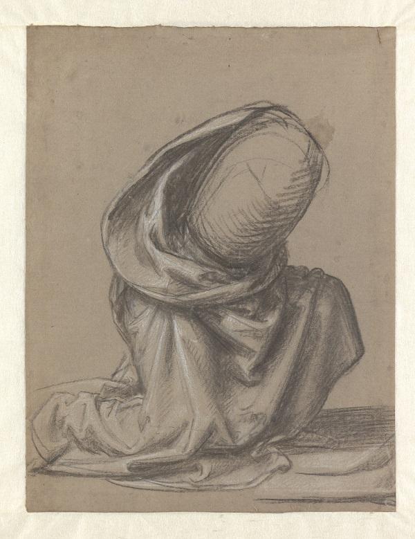 11 Draperiestudie voor de knielende Maria Magdalena_Museum Boijmans Van Beuningen