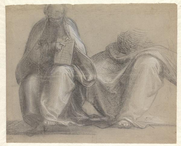 16 Twee studies voor God de Vader_Museum Boijmans Van Beuningen