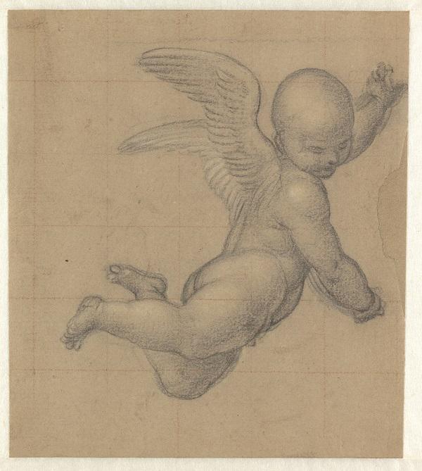 20 Studie voor een vliegend engeltje_Museum Boijmans Van Beuningen