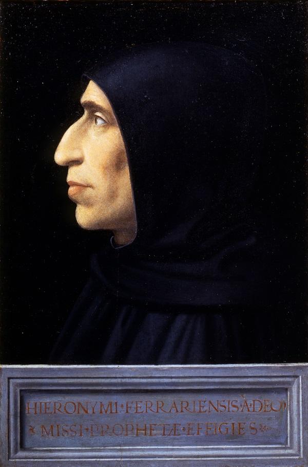30 Portret van Girolamo Savonarola