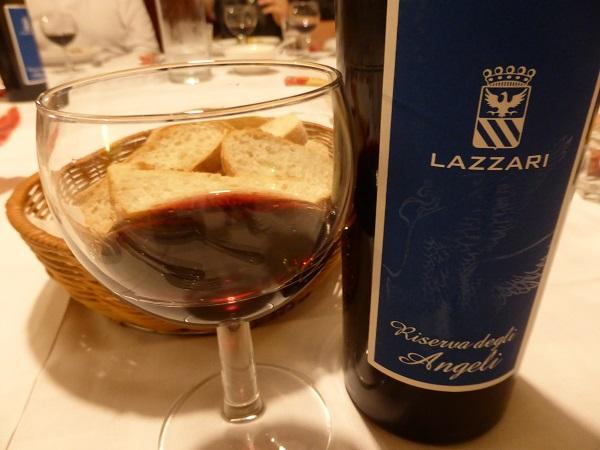 Osteria al Bianchi Vino Lazzari