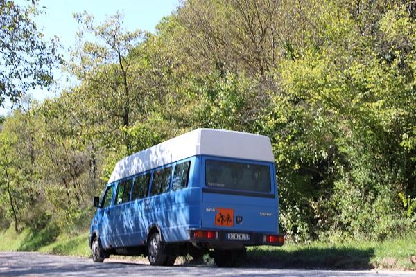 schoolbus van Floris