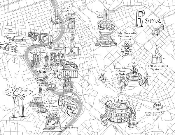 een-liefde-in-rome-kaart
