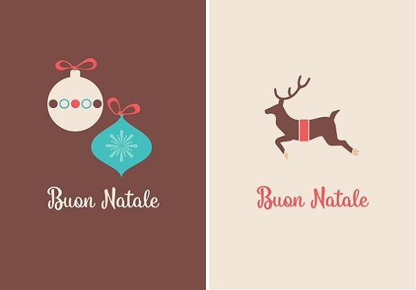 kaarten-a6-little-rome-kerst-kerstballen-natale-winter-bruin