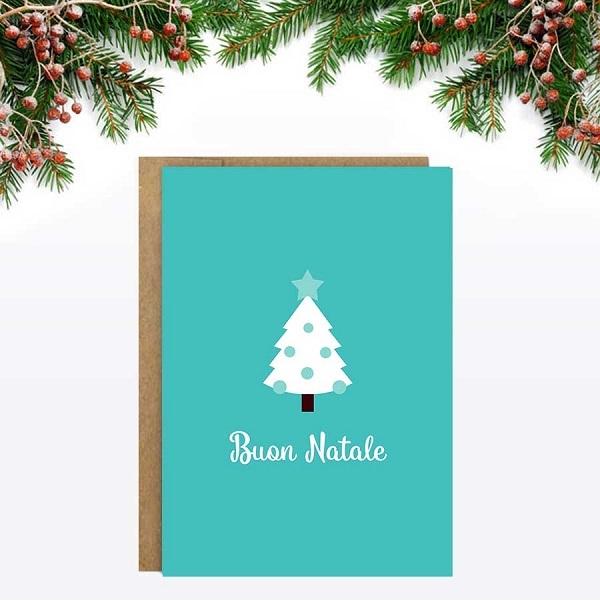 kaarten-a6-little-rome-kerst-natale-kerstboom-groen-1