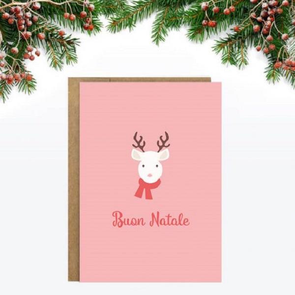kaarten-a6-little-rome-kerst-natale-kerstboom-winter-rendier-roze-rood-555x741