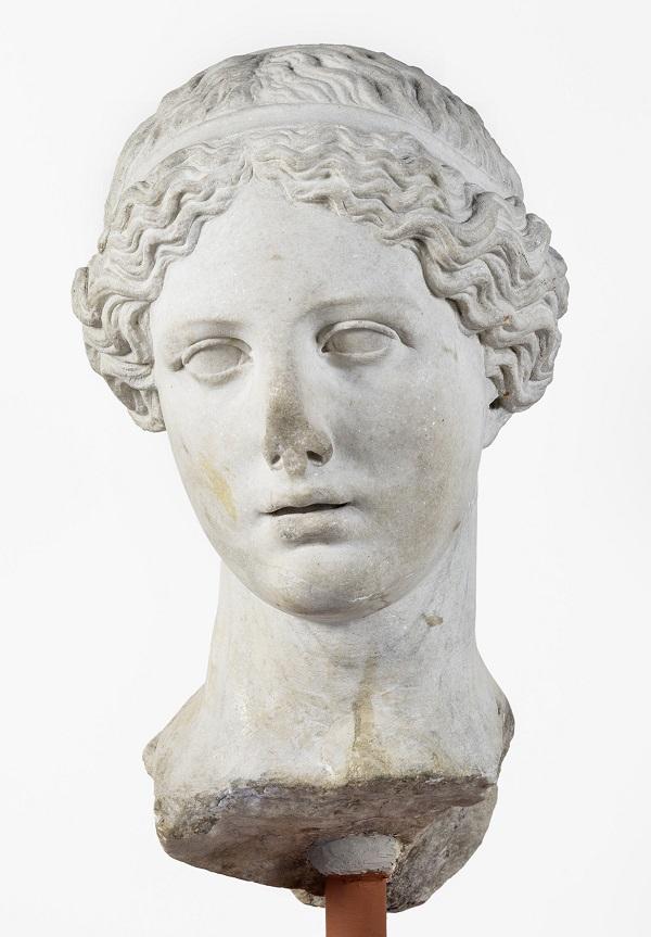 Römisch-Germanisches Museum, RGM, Köln, Aphrodite, Marmor, Inv.Nr. 72,383