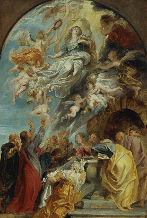 13-modello-voor-de-hemelvaart-van-maria-peter-paul-rubens-1622-mauritshuis-den-haag