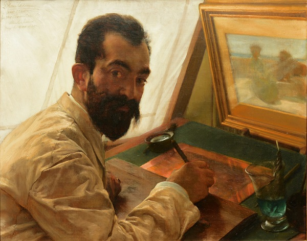 sir-lawrence-alma-tadema-portret-van-leopold-lowenstam-de-etser-1883-particuliere-collectie-engeland