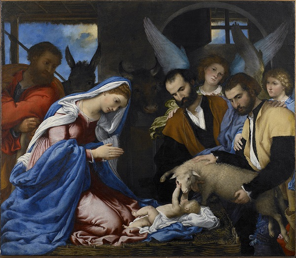 annunciatie-herders-lorenzo-lotto-renaissance-rijksmuseum-twenthe