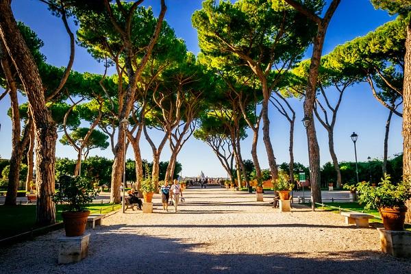 7x de mooiste uitzichten over rome ciao tutti ontdekkingsblog door itali - Giardino degli aranci frattamaggiore ...
