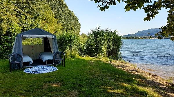 comfortabel kamperen in lecco aan het comomeer – ciao tutti