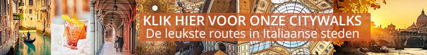 Geniet van de leukste routes door Italiaanse steden!