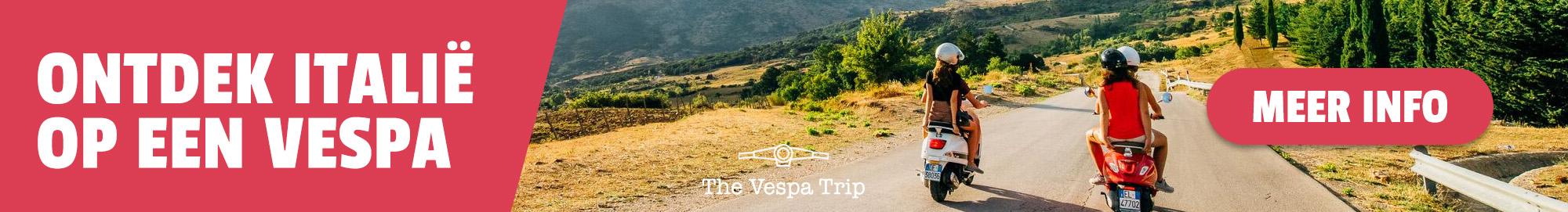 Ontdek Italië op een Vespa!