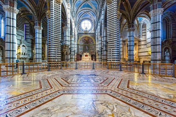 Kathedraal Van Siena.Unieke Kans Ontdek De Vloer Van De Duomo In Siena Ciao