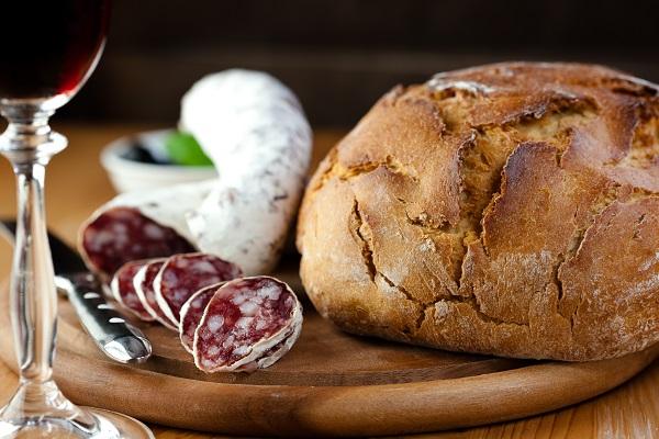 5 Pane e salame