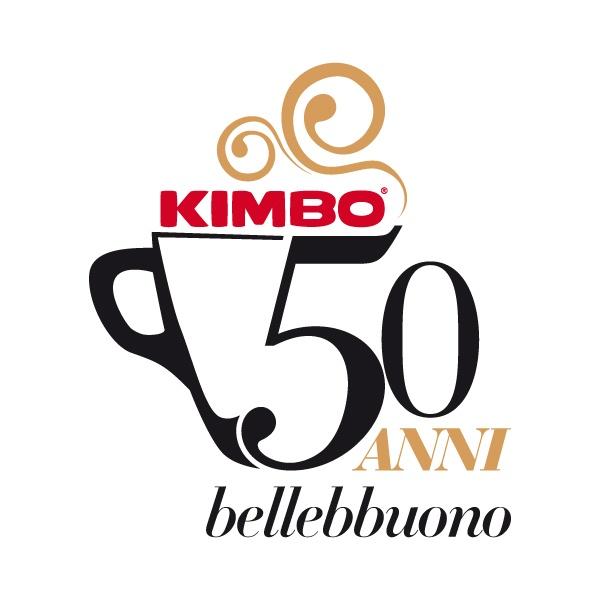 50 anni Caffe Kimbo logo