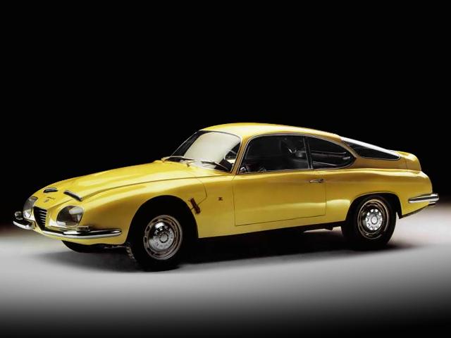 Alfa Romeo 2600 SZ - car. Zagato - 1965 - foto Museo Storico AR