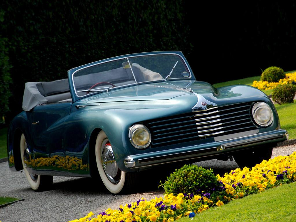 Alfa Romeo 6c 2500 S - car. Stabilimenti Farina - 1947