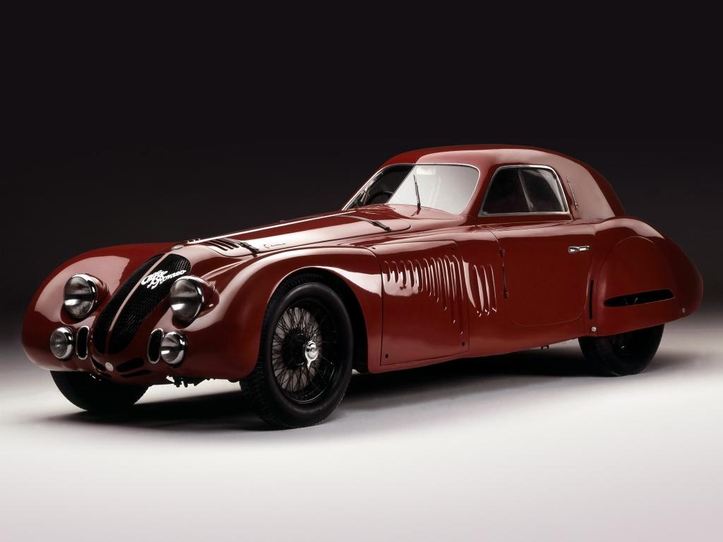 Alfa Romeo 8C 2900 B Speciale tipo ´ÇáLe Mans´Çá - car. Touring - 1938 - 02 - foto Museo Storico AR