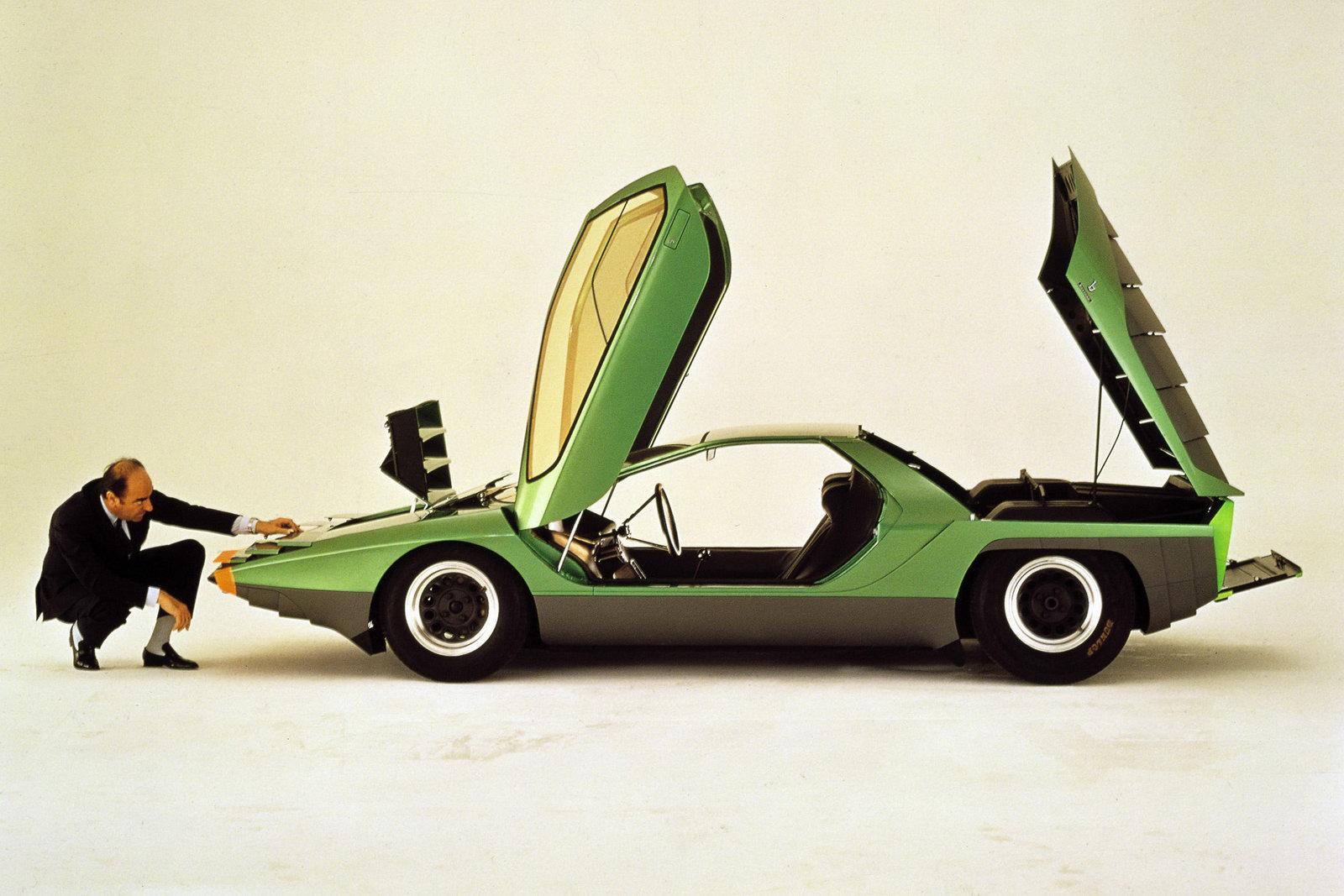 Alfa Romeo Carabo - car. Bertone - 1968 - 02 - foto Museo Storico AR
