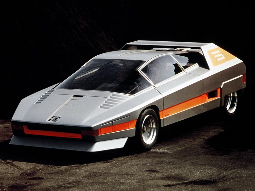 Alfa Romeo Navajo - car. Bertone - 1976 - 01 - foto Museo Storico AR