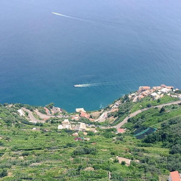 Amalfikust-uitzicht