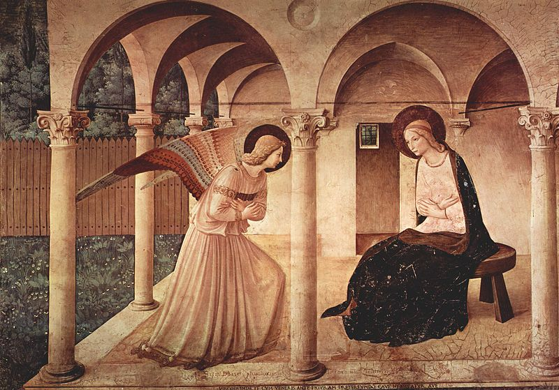 Annunciatie Fra Angelico Florence