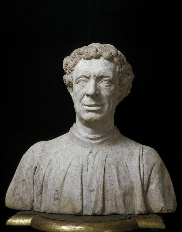 Antonio Rossellino, Portrait Bust of Matteo Palmieri, 1468, 53.3 cm, Museo del Bargello, Florence © photo Scala, Florence - su concessione del Ministero per i Beni e le Attività Culturali