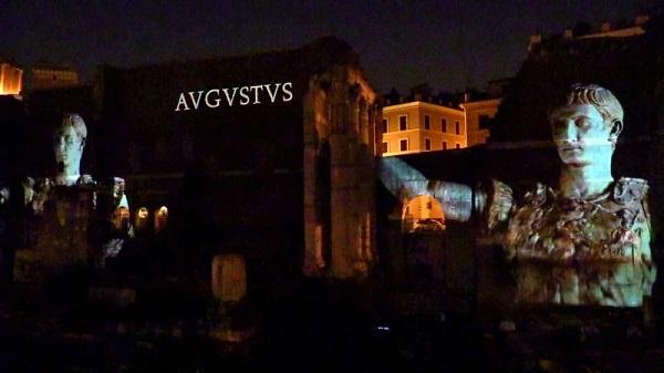 Augusto-Show ai Fori Imperiali
