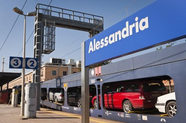 EETC Autoslaaptrein Den Bosch - Alessandria