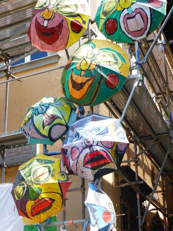 Barga-kunst-paraplu