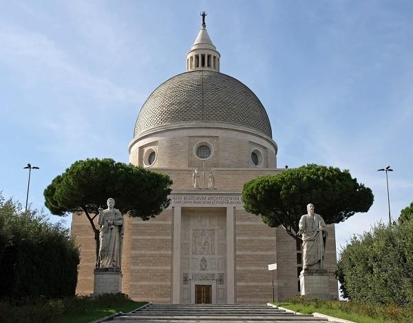Basilica-dei-Santi-Pietro-Paolo-EUR-Rome