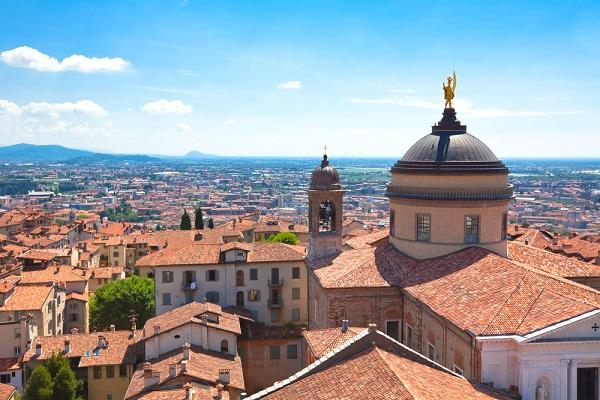 Bergamo-Noord-Italië