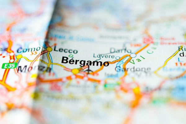 Bergamo-plattegrond