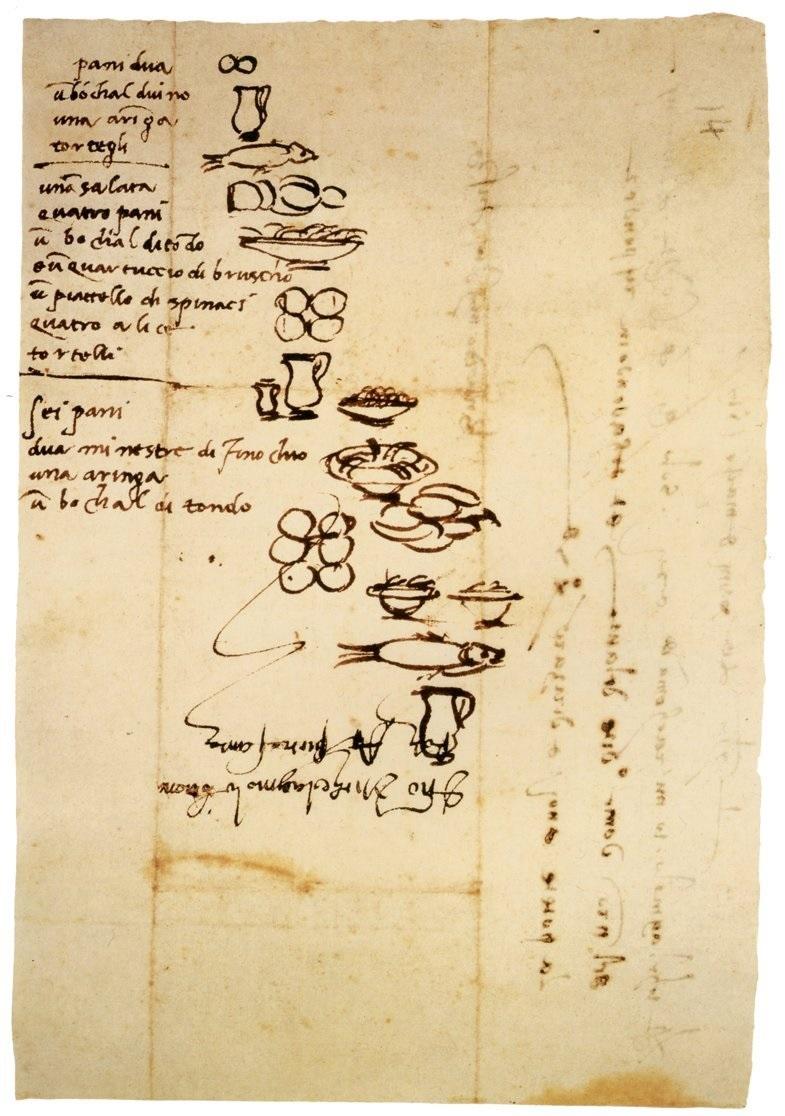 Boodschappenlijstje-Michelangelo