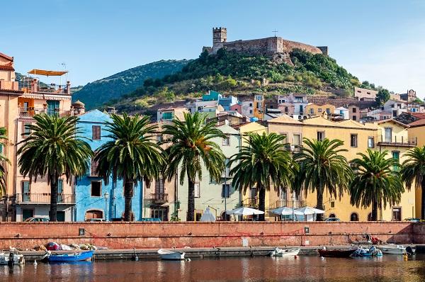 Bosa-Sardinie-kasteel