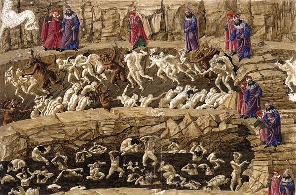 Botticelli-Hel-Inferno-Divina-Commedia-Dante (6)