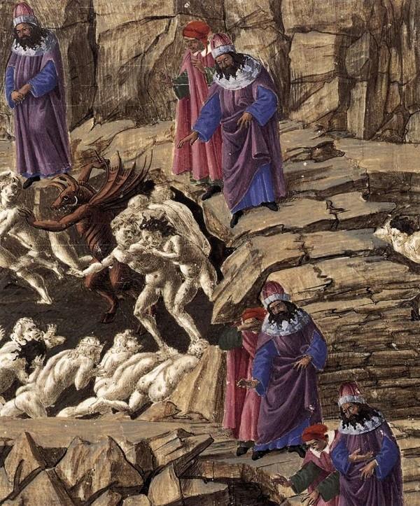 Botticelli-Hel-Inferno-Divina-Commedia-Dante (7)