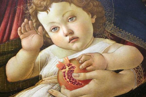 Botticelli-Madonna-granaatappel-Uffizi-2