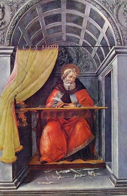 Botticelli-Sant-Agostino-Uffizi-Florence